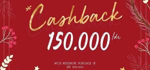 Get Cashback 150 K