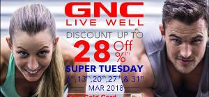 Dapatkan Promo Diskon Hingga 28% dari GNC Live Well