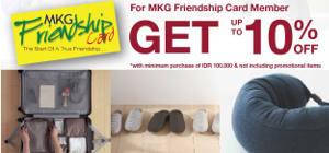 Promo Diskon Khusus Pemegang MKG Friendship Card
