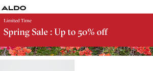 ALDO Shoes Spring Sale up to 50% off!