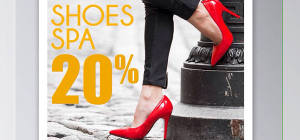Get Discount 20% For Shoes Spa at Your Bag Spa