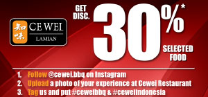 Tag Your Photo & Get 30% DISC