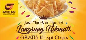 FREE Krispi Chips Smoked Chicken Cheese Sauc