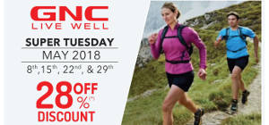 GNC Super Tuesday May 2018