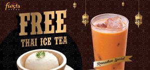 Free Thai Ice Tea