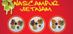 Spesial Paket Nasi Campur Vietnam