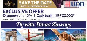 Fly With ETIHAD AIRWAYS - UOB