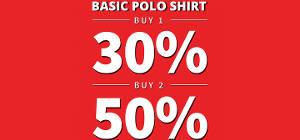 Basic Polo Shirt Promo