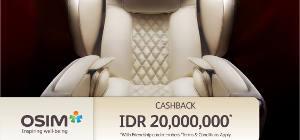 Cashback Senilai 20 Juta Rupiah