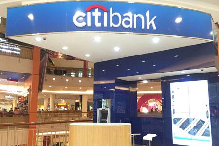 Thumb tenant Citibank