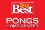 Logo tenant Do It Best Pongs Home Centre