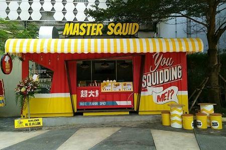 Thumb tenant Master Squid