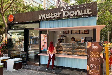 Thumb tenant Mister Donut
