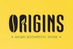 Logo tenant Origins Authentic Drink