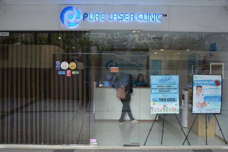Thumb tenant Pure Laser Clinic