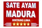 Logo tenant Sate Ayam Madura Bintang 5