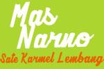 Logo Sate Karmel Lembang Mas Narno
