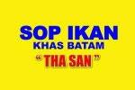 """Logo Sop Ikan  """"Tha San"""" Khas Batam"""