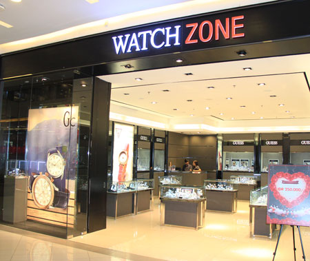 Thumb Watch Zone